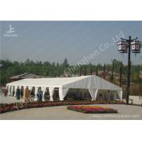 Cheap Portable Aluminum Structure Big Party Tents , Amazing White Fabric Party Marquee for sale