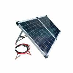 Outdoor 120w Folding Solar Panel , Off Grid Portable Solar Panels For Caravans