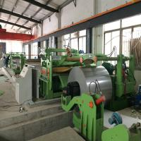 China Cut To Length Line Machine Recoil Metal Sheet Straightening Machine Leveling on sale