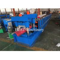 Cheap Color Coated Top Roll Ridge Cap Roll Forming Machine with Pressing Device for sale