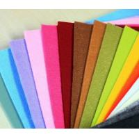 China high quality various color factory price non woven polyester felt fabric on sale