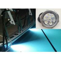 Cheap RGB IP68 LED Boat light 316 Stainless Steel RF Control LED Drain Light wholesale