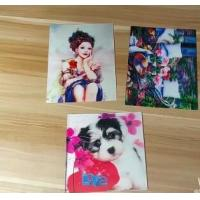 Cheap OEM 3D printing factory provide  india 3d lenticular card for sale with strong 3d depth lenticular effect for sale