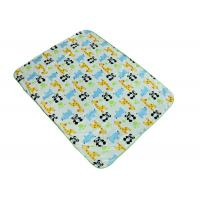 Cheap Cute Polyester Baby Blanket Flame Retardant With SGS Certificate for sale