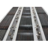 Cheap Fully Automatic Titanium Electrode Products , Light Weight Platinized Titanium Anode for sale