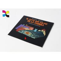Buy cheap Full Page Print Gluing Binding High Gsm Matte Lamination Paperback Book Printing from wholesalers
