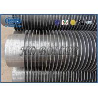 Cheap Industrial Boiler Economizer Heat Exchanger Tubes , Spiral Fin Tube For Heat Transfe for sale