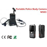 Cheap CMS Software Police Body Worn Camera DVR Support 10 Hours Recording128G for sale