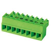 Buy cheap 160V 8A 300V Female Connector Pluggable Terminal Block , Pitch 3.5 / 3.81 mm from Wholesalers
