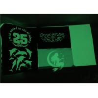 Cheap Warn Peeling Glow In The Dark Heat Press Vinyl For Clothing 50 Times Good Washing for sale