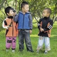 Cheap Children's jacket, softshell style for sale