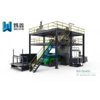 China PP Non Woven Fabric Making Machine Nonwoven Production Line on sale