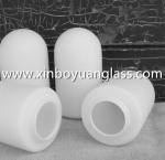 Cheap Frosted matt milk white glass lamp shade pendant light for sale