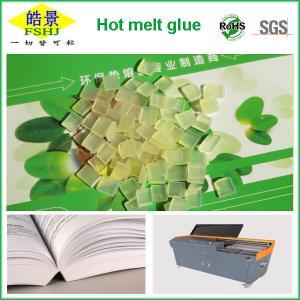 Cheap Light Yellow Granule EVA Hot Melt Adhesive For Book Binding Glue wholesale