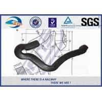 Cheap Plain Surface Heavy Duty 45# Steel Rail Anchor 8.8 Grade For Fixing Rail for sale