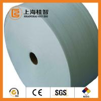 Cheap 60GSM White 100% Bamboo Spunbond Non Woven Fabric Good Water Penentration for sale