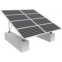 Cheap Solar Photovoltaic RV Solar Mounting Systems , 0-60 Degree Solar Panel Roof Mounting Kits for sale