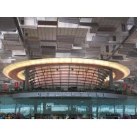 Cheap Singapore Airport Terminal laminated toughened glass for wall and rail for sale