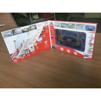 China Fully customizable 7'' screen size lcd video video marketing brochure video business card for construction marketing on sale