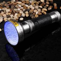 Cheap Best 100LED 395NM UV Flashlight 6*AA - Pet Detective LED Ultraviolet Blacklight Reveals Hidden Dog And Cat Urine Stains wholesale
