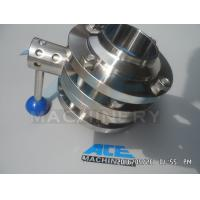 Cheap Sanitary Stainless Steel Pulling Hanlde Butterfly Valve (ACE-DF-7T) for sale