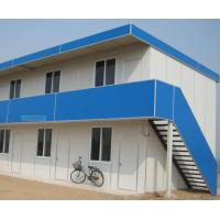 Cheap Two Layers Movable Container House , Prefabricated Double Container House for sale