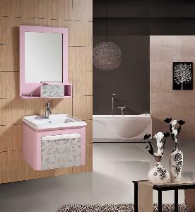 Cheap Bathroom Cabinet / PVC Bathroom Cabinet for sale
