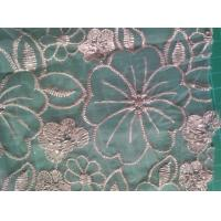 Cheap Polyester embroidered Lace Fabric for sale