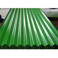 China Green Moss Green Corrugated Steel Sheets SGCC For Roofing PPGI PPGL on sale