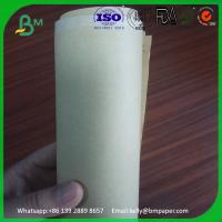 Cheap Gift wrapping brown kraft paper roll, best kraft paper price from China for sale