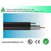 HFC system 75ohm Trunk cable QR540 CATV cable with messenger