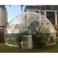 Cheap UV - Treated Clear Camping Tent Half Sphere Geodesic Dome Wedding Tent for sale