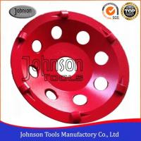 Cheap PCD Type Diamond Grinding Wheels For Concrete Grinding 4/1 round PCD SGS for sale