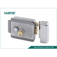 China Home High Security Electric Rim Lock With Double Cylinder Push Button , 123 X 106 X 35mm on sale