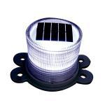 Cheap solar flashing warning light for sale