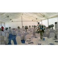 Cheap Professional 100 Seaters Luxury Wedding Tents For Rent , Beach Wedding Marquee wholesale