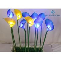 China Conductive Lighted Artificial Trees Calla Lily Flower Shape Silicon Material on sale