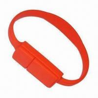 Cheap Wristband Memory Stick with 16GB, Supports Hot-swap Capability for sale