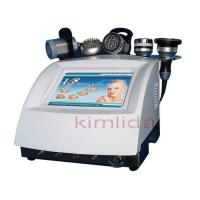Cheap V8 5 in 1 Strong Sound Wave Fat Removal Ultrasonic + Vacuum + RF + Bio LED Machine System for sale