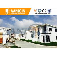 Quality Long Lifespan Modern Prefab House With Light Steel Structure And Sandwich Wall Panel wholesale