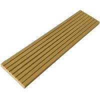 Outdoor wood plastic composite decking boards wpc for Decking planks for sale