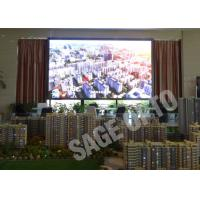 Cheap Indoor LED Advertising Billboard High Defination Super Slim Large LED Screen for sale