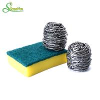 10g To 60g Spiral Stainless Steel Pan Scrubbers Ball For Cleaning Stain No Hurt