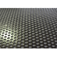 China Galvanized Round Hole Perforated Sheet Metal Panels For Construction And Decoration on sale