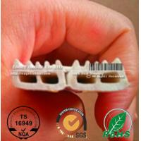 Buy cheap E shape extruded silicone foam strips from wholesalers