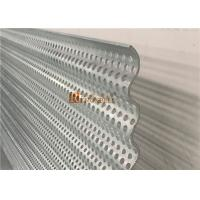 Cheap Curved Decorative Aluminum Sheet with Punched Holes Perforation for Facade for sale