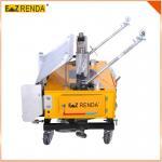 Cheap Ez renda Mortar Rendering wall plaster machine Hydraulic System for sale