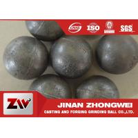 Cheap 55-65HRC Hardness forged steel grinding ball , ball milling media for sale