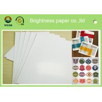 Cheap Specialty Full 80gsm Art Paper Rolls , Recycled Craft Paper Wood Pulp Material for sale
