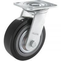 Cheap Heavy Duty PU Caster (Black) (Flat Surface) (G4203) for sale